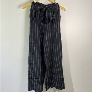 Aritzia striped dress pants